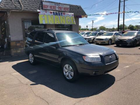 2008 Subaru Forester for sale at Valley Auto Center in Phoenix AZ