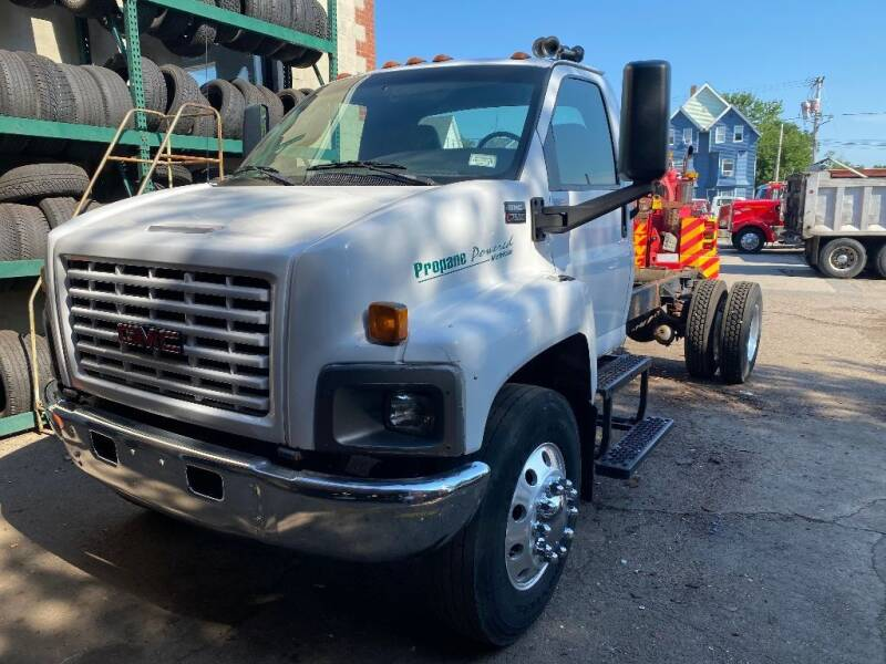 2007 GMC 7500 for sale at Lynch's Auto - Cycle - Truck Center in Brockton MA