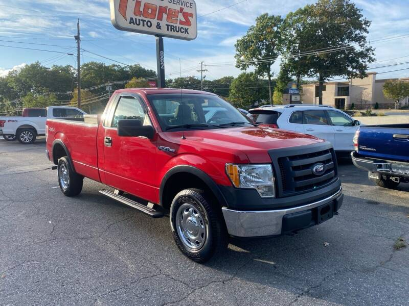 2010 Ford F-150 for sale at FIORE'S AUTO & TRUCK SALES in Shrewsbury MA