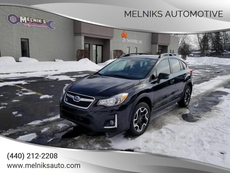 2016 Subaru Crosstrek for sale at Melniks Automotive in Berea OH