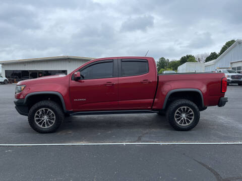 2017 Chevrolet Colorado for sale at B & W Auto in Campbellsville KY