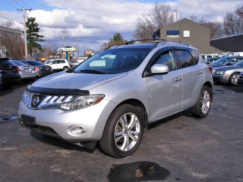 2009 Nissan Murano for sale at Route 12 Auto Sales in Leominster MA