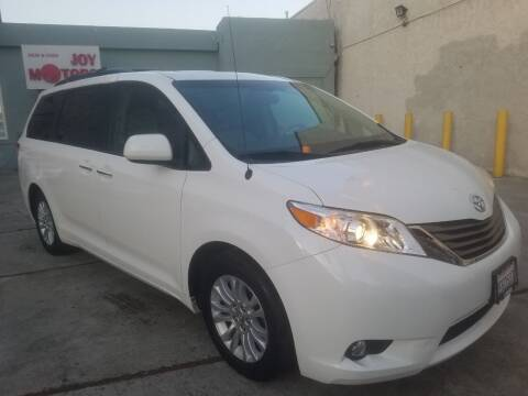 2014 Toyota Sienna for sale at Joy Motors in Los Angeles CA
