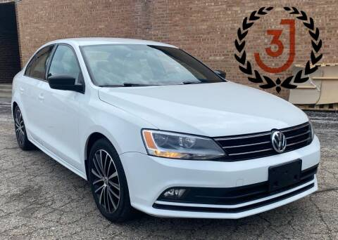 2016 Volkswagen Jetta for sale at 3 J Auto Sales Inc in Arlington Heights IL