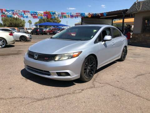 2012 Honda Civic for sale at Valley Auto Center in Phoenix AZ