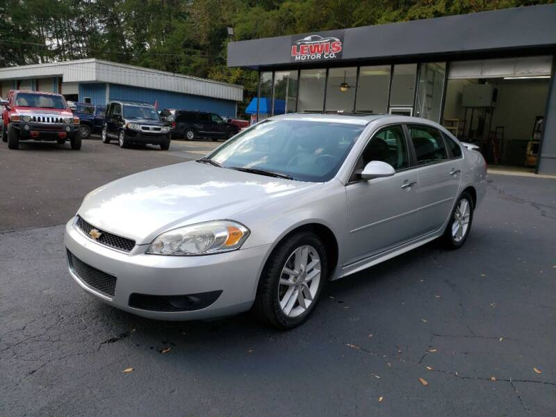 2013 Chevrolet Impala for sale at Curtis Lewis Motor Co in Rockmart GA