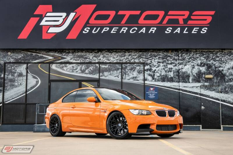 2013 BMW M3 for sale at BJ Motors in Tomball TX
