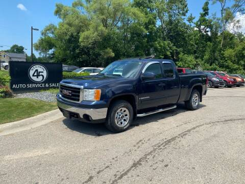 2008 GMC Sierra 1500 for sale at Station 45 Auto Sales Inc in Allendale MI