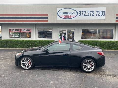 2013 Hyundai Genesis Coupe for sale at Traditional Autos in Dallas TX