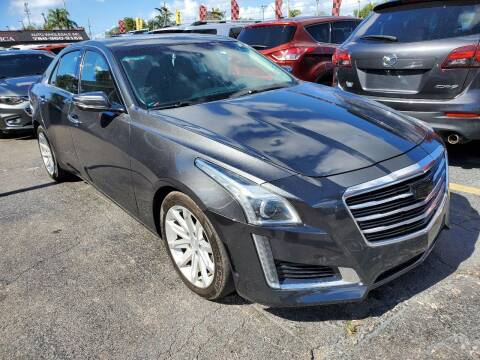 2016 Cadillac CTS for sale at America Auto Wholesale Inc in Miami FL