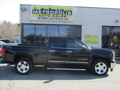 2015 Chevrolet Silverado 1500 for sale at Metropolis Auto Sales in Pelham NH