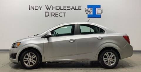 2012 Chevrolet Sonic for sale at Indy Wholesale Direct in Carmel IN
