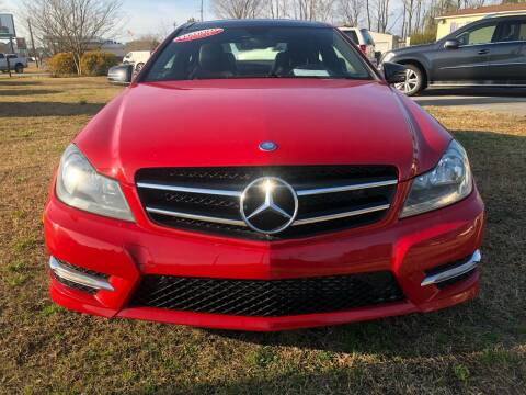 2013 Mercedes-Benz C-Class for sale at East Carolina Auto Exchange in Greenville NC