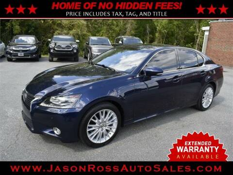 2013 Lexus GS 350 for sale at Jason Ross Auto Sales in Burlington NC