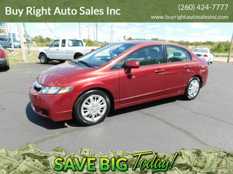 2010 Honda Civic for sale at Buy Right Auto Sales Inc in Fort Wayne IN