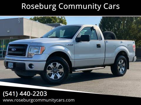 2014 Ford F-150 for sale at Roseburg Community Cars in Roseburg OR