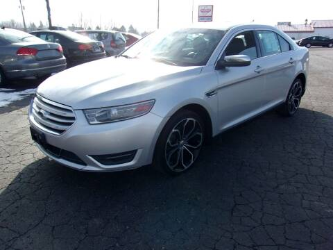 2013 Ford Taurus for sale at DAVE KNAPP USED CARS in Lapeer MI
