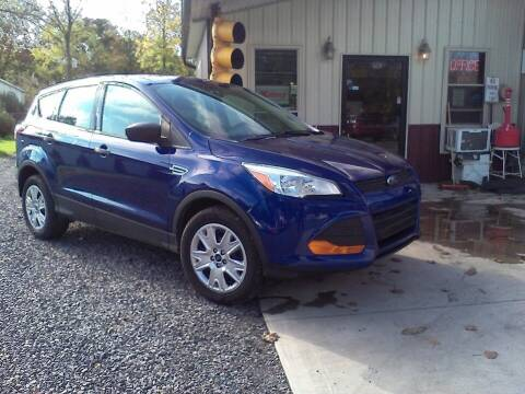 2013 Ford Escape for sale at John's Auto Sales & Service Inc in Waterloo NY