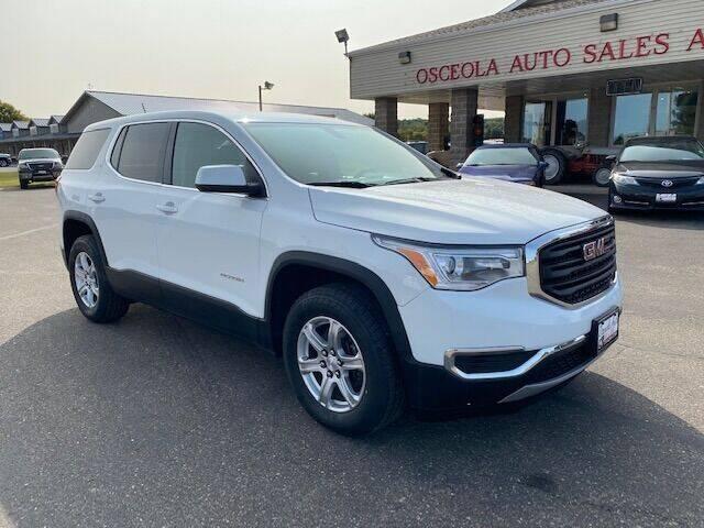 2017 GMC Acadia for sale at Osceola Auto Sales and Service in Osceola WI