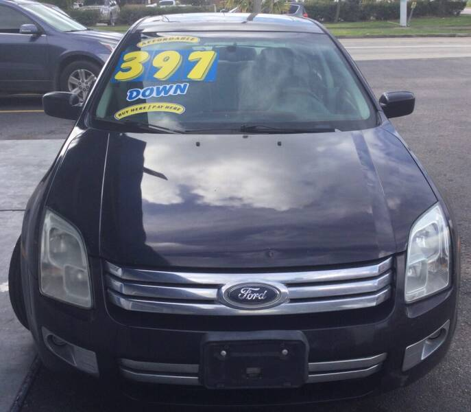 2007 Ford Fusion for sale at AUTO LEADS in Pasadena TX