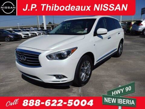 2015 Infiniti QX60 for sale at J P Thibodeaux Used Cars in New Iberia LA