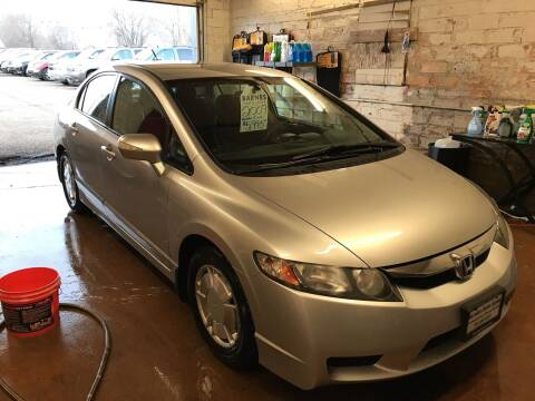 2009 Honda Civic for sale at BARNES AUTO SALES in Mandan ND
