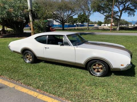 1968 Oldsmobile Cutlass for sale at BIG BOY DIESELS in Ft Lauderdale FL