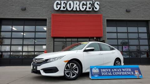 2018 Honda Civic for sale at George's Used Cars - Pennsylvania & Allen in Brownstown MI