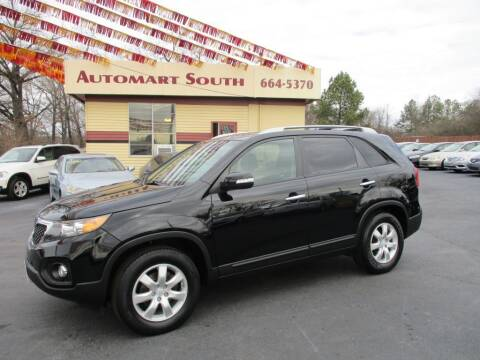 2011 Kia Sorento for sale at Automart South in Alabaster AL