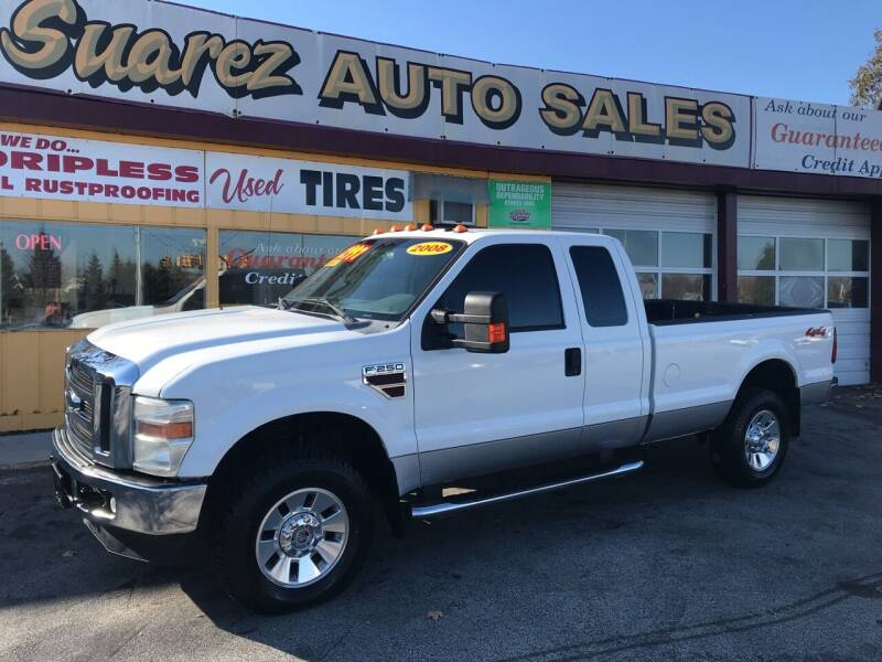 2008 Ford F-250 Super Duty for sale at Suarez Auto Sales in Port Huron MI