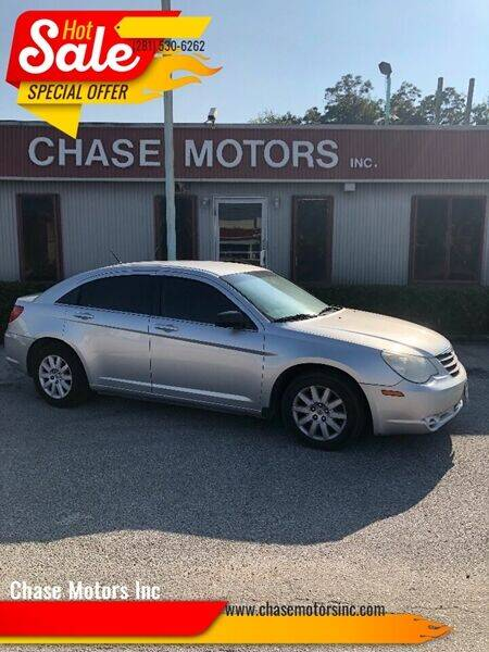 2010 Chrysler Sebring for sale at Chase Motors Inc in Stafford TX