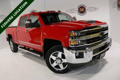 2019 Chevrolet Silverado 2500HD for sale at Unlimited Motors in Fishers IN