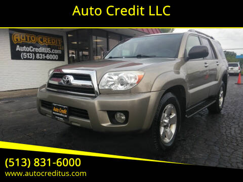 2007 Toyota 4Runner for sale at Auto Credit LLC in Milford OH