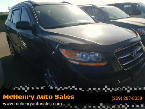 2008 Hyundai Santa Fe for sale at McHenry Auto Sales in Modesto CA