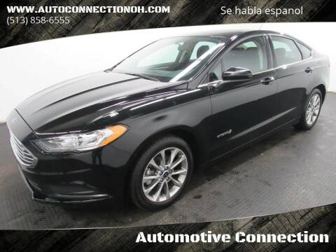 2017 Ford Fusion Hybrid for sale at Automotive Connection in Fairfield OH
