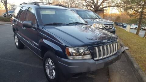 2004 Jeep Grand Cherokee for sale at Economy Auto Sales in Dumfries VA