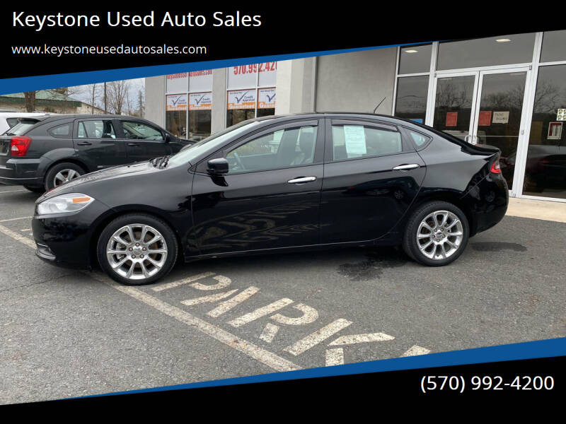 2013 Dodge Dart for sale at Keystone Used Auto Sales in Brodheadsville PA