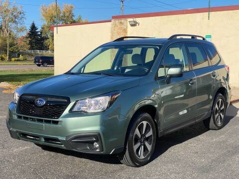 2017 Subaru Forester for sale at North Imports LLC in Burnsville MN