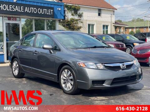 2009 Honda Civic for sale at MWS Wholesale  Auto Outlet in Grand Rapids MI