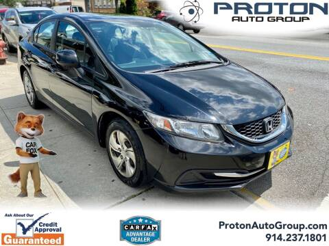 2013 Honda Civic for sale at Proton Auto Group in Yonkers NY