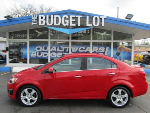 2012 Chevrolet Sonic for sale at THE BUDGET LOT in Detroit MI