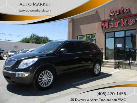 2012 Buick Enclave for sale at Auto Market in Oklahoma City OK