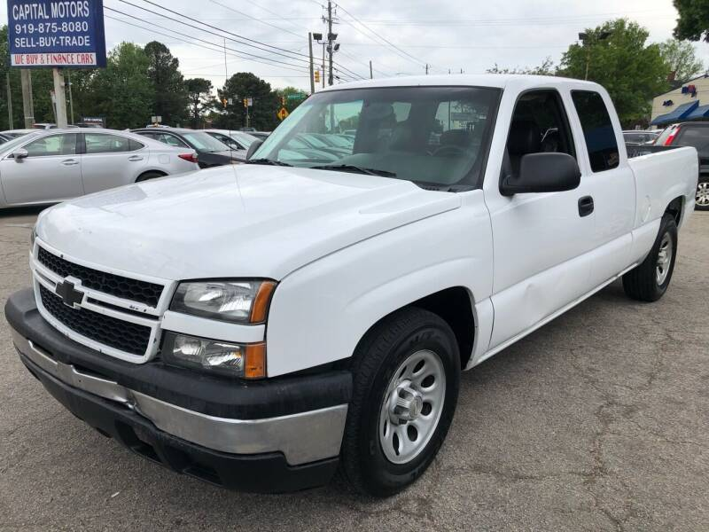 2007 Chevrolet Silverado 1500 Classic for sale at Capital Motors in Raleigh NC