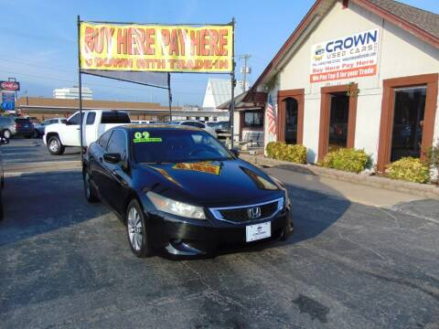 2009 Honda Accord for sale at Crown Used Cars in Oklahoma City OK