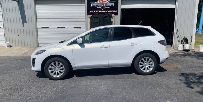 2010 Mazda CX-7 for sale at Jack Foster Used Cars LLC in Honea Path SC