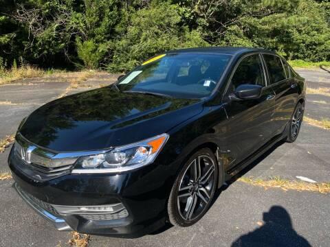 2017 Honda Accord for sale at Peach Auto Sales in Smyrna GA