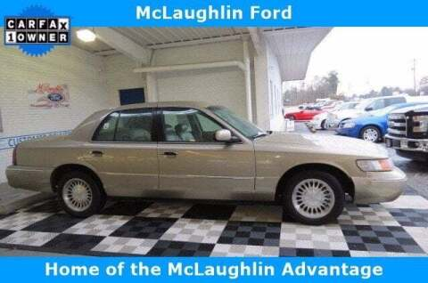 2000 Mercury Grand Marquis for sale at McLaughlin Ford in Sumter SC