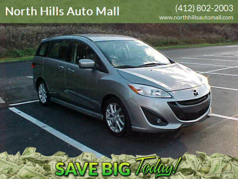 2012 Mazda MAZDA5 for sale at North Hills Auto Mall in Pittsburgh PA