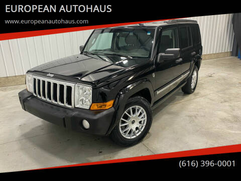 2006 Jeep Commander for sale at EUROPEAN AUTOHAUS in Holland MI