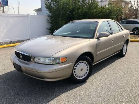 2001 Buick Century for sale at Giordano Auto Sales in Hasbrouck Heights NJ